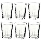 Set Of Bormioli Rocco Ducal 265ml Designed Drinking Tumblers Dining Glassware
