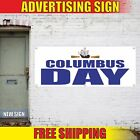 COLUMBUS Day Advertising Banner Vinyl Mesh Decal Sign HAPPY SALE SPECIALS OFFER