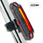 USB Rechargeable Bike Lights LED Bicycle Front Rear Tail Warning Lamp Safety New