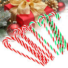 10x Christmas Acrylic 15cm Candy Cane Xmas Tree Hanging Decoration Ornaments