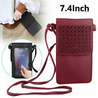 Shoulder Cross-body Leather Case Pouch Wallet Phone Bag for iPhone X Samsung S10