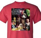 Star Wars Holiday Special T shirt retro 70s 80s Christmas graphic red tee $19.99 USD on eBay