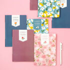 2020 Flowery Monthly Journal Planner Diary Scheduler Illustrated Cute Organizer