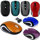 2.4GHz Wireless Optical Mouse Mice  USB Receiver For PC Laptop Computer