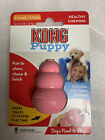 NEW KONG Pink Puppy Dog Pet Teething Aid Treat Chew Toy Assorted Sizes