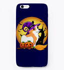 Happy Corgi Halloween For Witch Lover Gift Phone Case iPhone