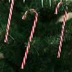 10x Large Plastic Candy Cane Christmas Tree Hanging Decor Xmas Prop Ornament UK