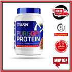USN Pure GF-1 Protein Low Carb 1kg 7 Source Protein Blend New Formula