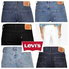 Levis 501 Original Fit Jeans Straight Leg Button Fly 100 Cotton Blue Black