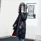 2019 Women winter coat Down jacket Ladies fur hooded jackets Long puffer parka
