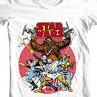 Star Wars retro design t-shirt original comic book 1970's cotton graphic tee $19.99 USD on eBay