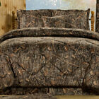 True Timber Conceal Brown Camouflage Bedding Set Comforter Skirt Shams Add More