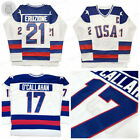 1980 USA Olympic Miracle on Ice 21 Mike Eruzione 17 OCallahan Hockey Jersey