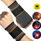 Adjustable Wrist Brace Hand Sports Sleeve Compression Pain Relief Arthritis US