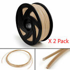 2 Pack 3D Printer Filament 1.75mm ABS PLA TPU PETG For Print Pen MakerBot 1KG T1