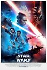 "Star Wars IX: Rise of the Skywalker Movie Poster red blue 24"" x 36"" or  27""x 40"" $13.0 USD on eBay"