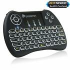 Upgraded Beastron 24G Mini Wireless Keyboard with Touchpad Mouse&QWERTY