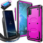 For Samsung Galaxy Note 10 Plus Wireless Fast Charger Charging + Protective Case