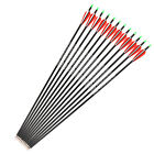 6/12/24pc 28inches Carbon Arrows OD7.8mm SPF500 Archery Hunting For Compound bow