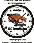 1957 DODGE POWER WAGON  WALL CLOCK-FREE USA SHIP!-Choose 1 of 3