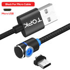 TOPK 360° L Magnetic USB Cable Micro USB Cable Type C iPhone LED Charging Cord
