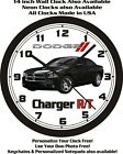2013 DODGE CHARGER R/T WALL CLOCK-FREE USA SHIP!