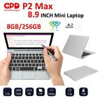 8.9 Inch GPD P2 Max Mini Notebook 3965Y 1.5GHz 16GB+512GB 4K H-IPS Touch Screen