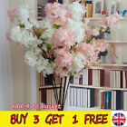 100cm Artificial Branch Cherry Blossom Fake Silk Flower Tree Party Home Decor Ib