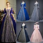 Renaissance Victorian Dress Lace Ball Gown Vintage Costume Historical Clothing