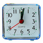 Battery Operated Digital Table Alarm Clock LCD Display Backlight Calendar Snooze