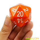 Bescon Jumbo Glowing D20 38MM, Big Size 20 Sides Dice 1.5 inch,Big 20 Faces Cube