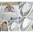 Portable Super Soft Breathable Removable Cover Newborn Infant Bassinet Bed