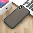 Matte Skin Feel Silicone Frosted Case Transparent Cover For Iphone 11 x xs max