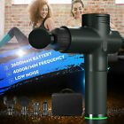 Handheld Massage Gun Sports Deep Tissue Percussion Muscle Massager Pain Relief $58.86 USD on eBay