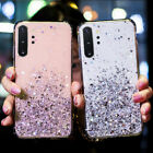 For Samsung Galaxy Note 10 Plus S10 S9 S8 Glitter Star Clear Soft TPU Case Cover