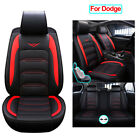 Universal Leather Car Seat Covers Cushion Fit for Dodge Charger Durango Journey $156.46 USD on eBay