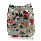 Diapers One Cloth 1 Pocket Baby Bamboo Size Diapers Reusable Nappy WashableCloth