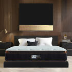 BedStory 12 Inch Gel Infused Memory Foam Hybrid Mattress Pocket Coil Spring Bed