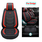 Leather Car Seat Covers Full Set Seat Accessories Fit for Dodge Charger Durango $168.22 USD on eBay