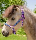 Miniature Horse Braided Parachute Cord Halter with Crystals