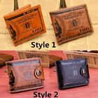 Mens Wallet US 100 Dollar Faux Leather Purse Wallet Card Credit Bifolds