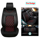 Full Set Car Seat Covers PU Leather Accessories Fit for Dodge Charger Durango $159.99 USD on eBay