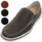Sedagatti Men's Casual Slip On Side Lace Boat Shoes NEW