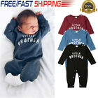 Kyпить Newborn Infant Baby Boy Girl Letter Romper Bodysuit Jumpsuit Clothes Outfit Lots на еВаy.соm