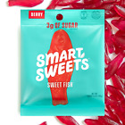 Smart Sweets Low Sugar SWEET FISH Candy (BERRY) SmartSweets - Pick Size