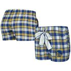 Golden State Warriors Concepts Sport Women's Piedmont Flannel Sleep Shorts - on eBay