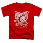 Betty Boop Baby Heart T Shirt Mens Licensed Cartoon Merchandise Classic TV Red $18.99 USD on eBay