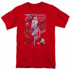 Betty Boop Boop Ball T Shirt Mens Licensed Cartoon Merchandise Baseball Red $17.09 USD on eBay