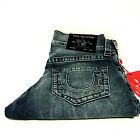 True Religion Mens Ricky Relaxed Straight No Flap Jeans 102922