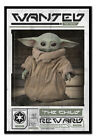 Star Wars Baby Yoda The Mandalorian Wanted MAGNETIC NOTICE BOARD Inc Magnets